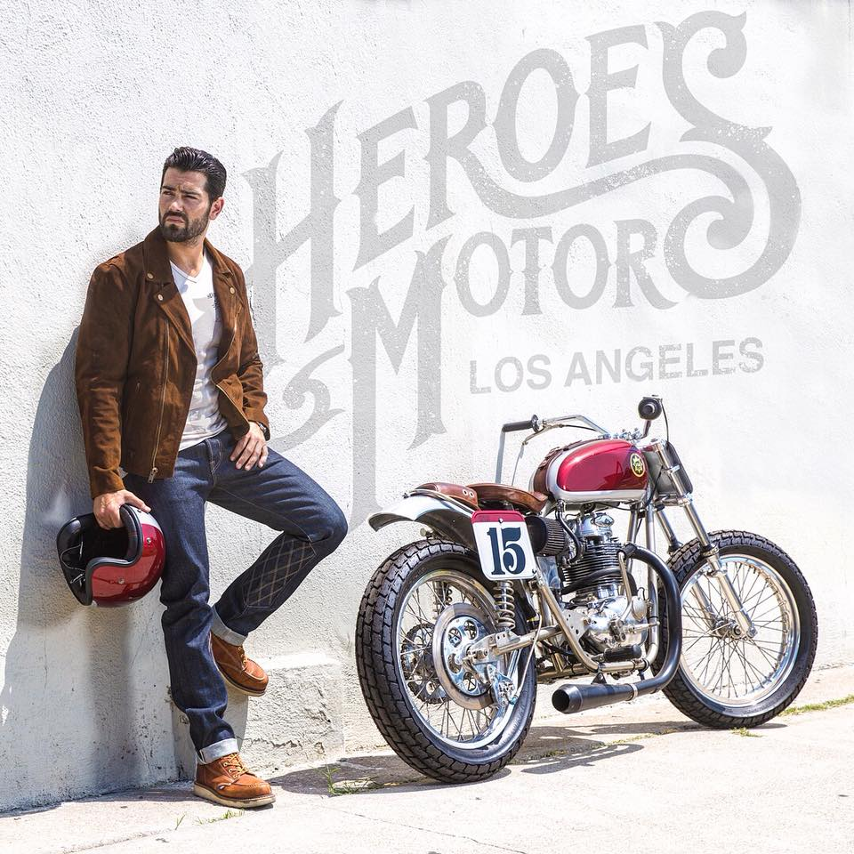 The new face of HEROES MOTORS | Jesse Metcalfe