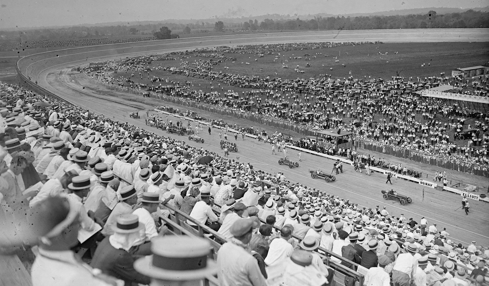 The Baltimore-Washington Board Track Speedway in 1925
