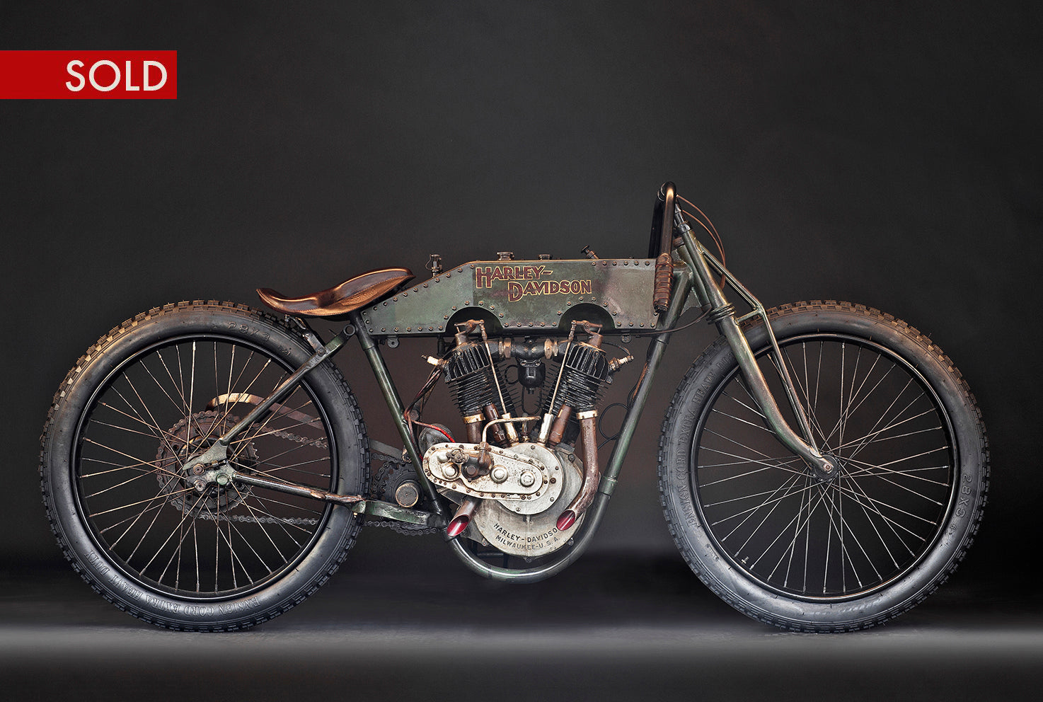1915 Harley-Davidson Model 11K Boardtrack Racer - Heroes Motorcycles