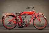 Indian 1912 Single 500Cc 1 Cyl IOE 2710 - Heroes Motorcycles