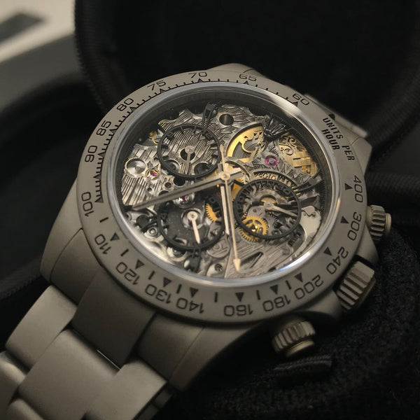 "Heroes Motors ""Custom Daytona Skeleton"" Gray Military"