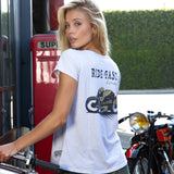 "Tee-shirt  ""Ride Fast"" W - Heroes Motorcycles"