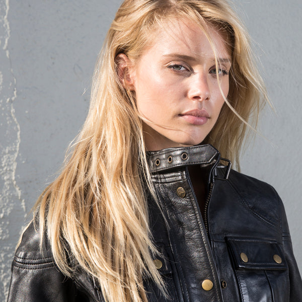 "Womens Motorcycle Jacket ""Malibu"""