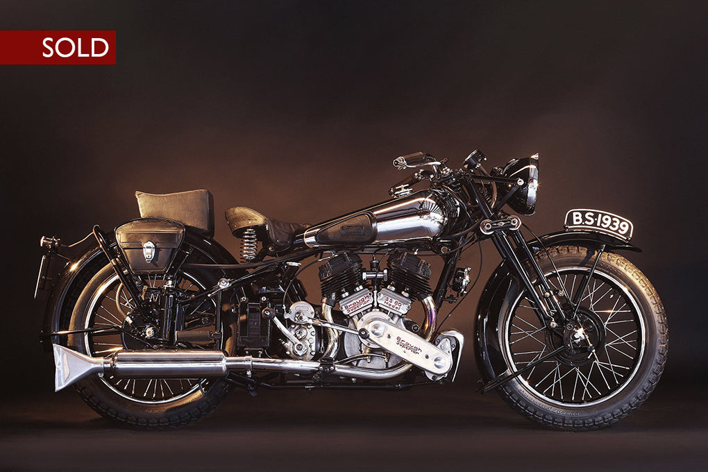 1938 Brough Superior SS 80