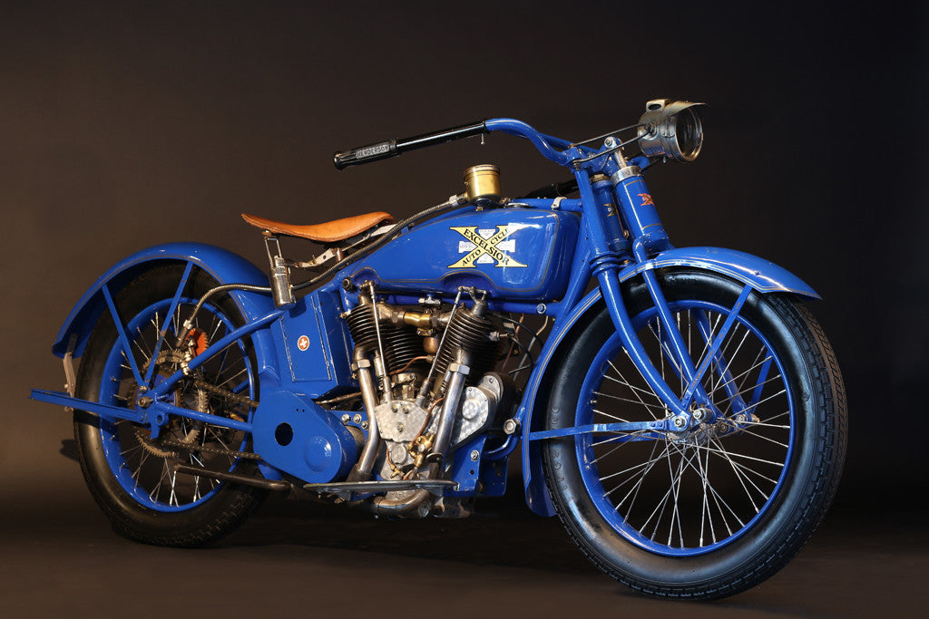 "1922 EXCELSIOR series 20 1000Cc Model ""DeLuxe"" Henderson - Heroes Motorcycles"