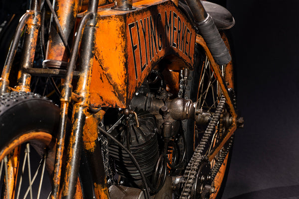 1915 Flying Merkel Board Track Racer