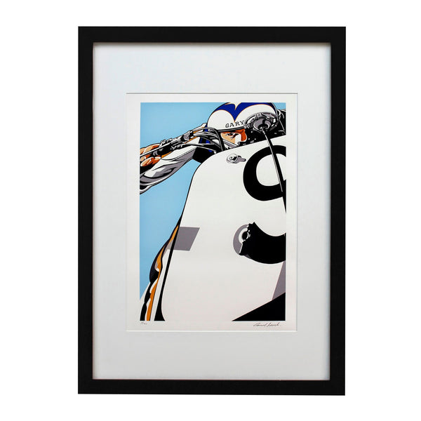 Gary Limited Edition Print - Heroes Motorcycles