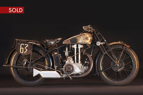 1929 Gillet Herstal 500 Supersport