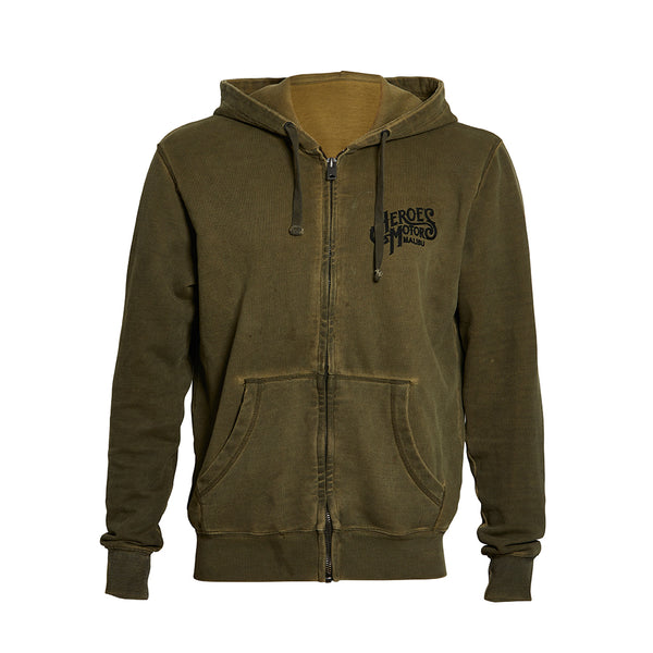 "Hoodie Heroes Motors ""Austin"" Regular fit zip"
