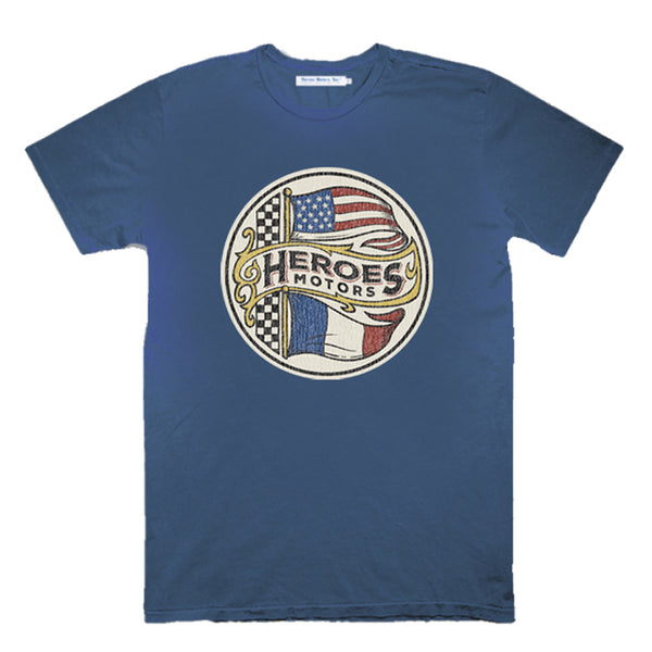 "Tee-Shirt Heroes Motors ""Heroes Flag"""
