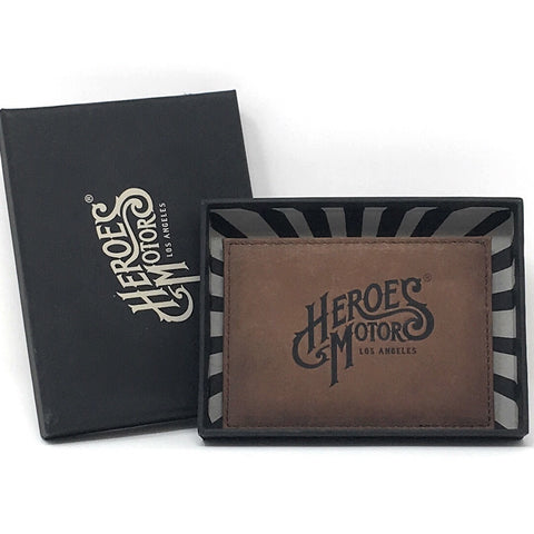 Card Holder Heroes Motors Leather