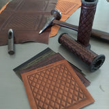 Heroes Motors Leather Grips - Heroes Motorcycles