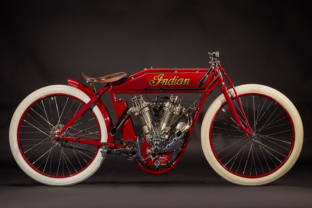 1915 Indian 8 Valve Board Track Racer
