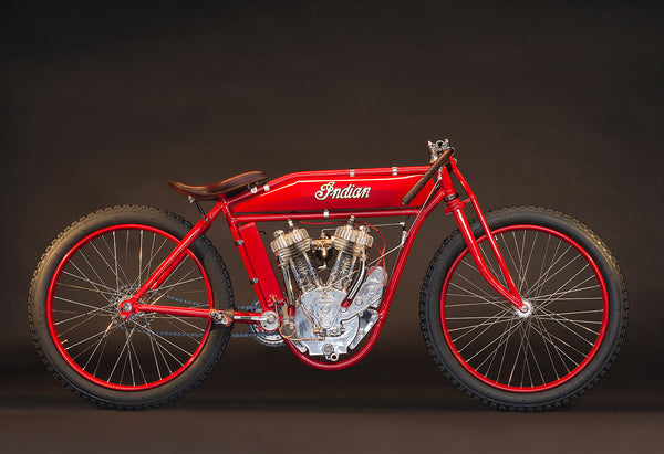 1918 Indian Twin Board track Racer - Heroes Motorcycles