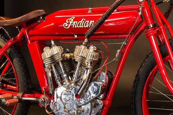 1918 Indian Twin Board-track Racer - Heroes Motorcycles