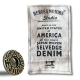 "Heroes Motors Denim ""One"" - Heroes Motorcycles"