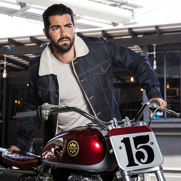Sherpa Trucker Denim Jacket - Heroes Motorcycles