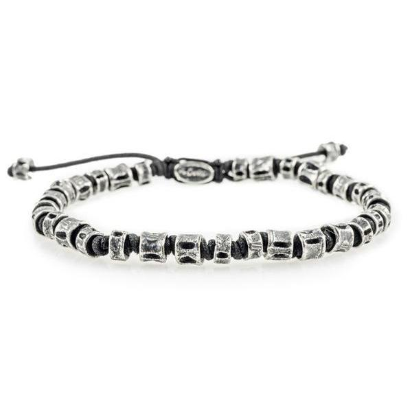 Heroes Motors Jewelry by Mcohendesigns Jointed Oxidized Casted Fish Bone Bracelet - Heroes Motorcycles