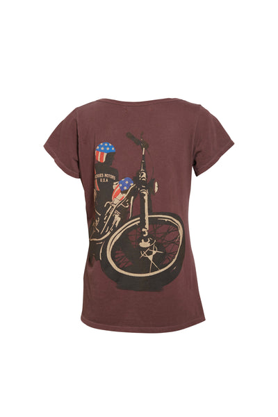 "Tee-shirt  ""Easy R"" - Heroes Motorcycles"