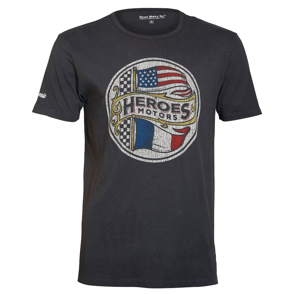 "Tee-shirt ""Normandie"" - Heroes Motorcycles"