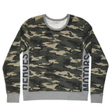 Camo Sweater French Terry - Heroes Motorcycles