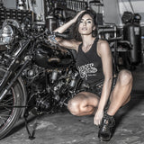 "Tank Top Flowy Heroes Motors ""Nikki"" Women"