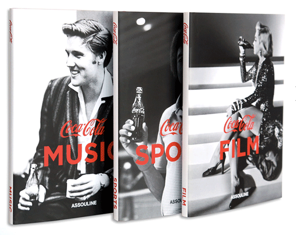 Coca-Cola Set Of Three: Film, Music, Sports - Heroes Motorcycles
