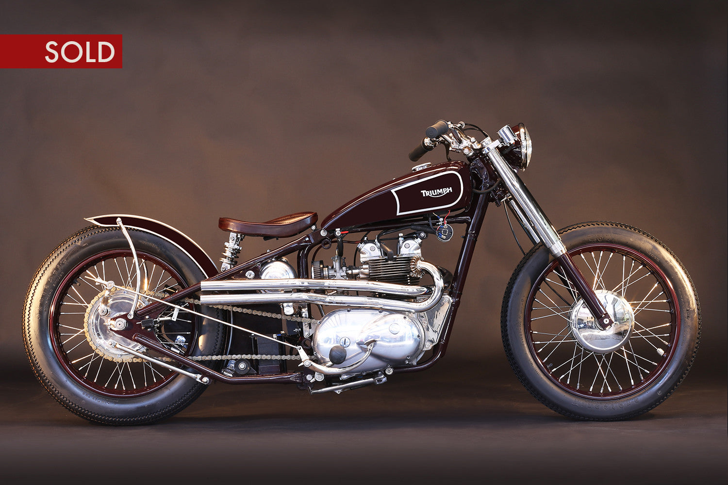 1968 Triumph Bobber 500Cc T100 - Heroes Motorcycles