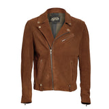 """Westside"" Men Suede Biker Jacket - Heroes Motorcycles"