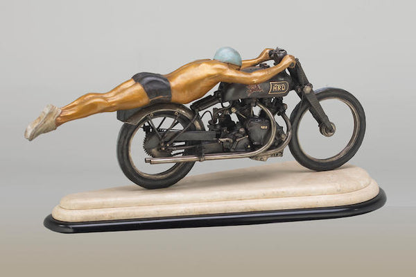 "Jeff Decker ""Rollie Free"" Bronze Sculpture"