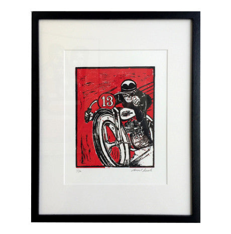 Lucky 13 Studio Edition Print - Heroes Motorcycles