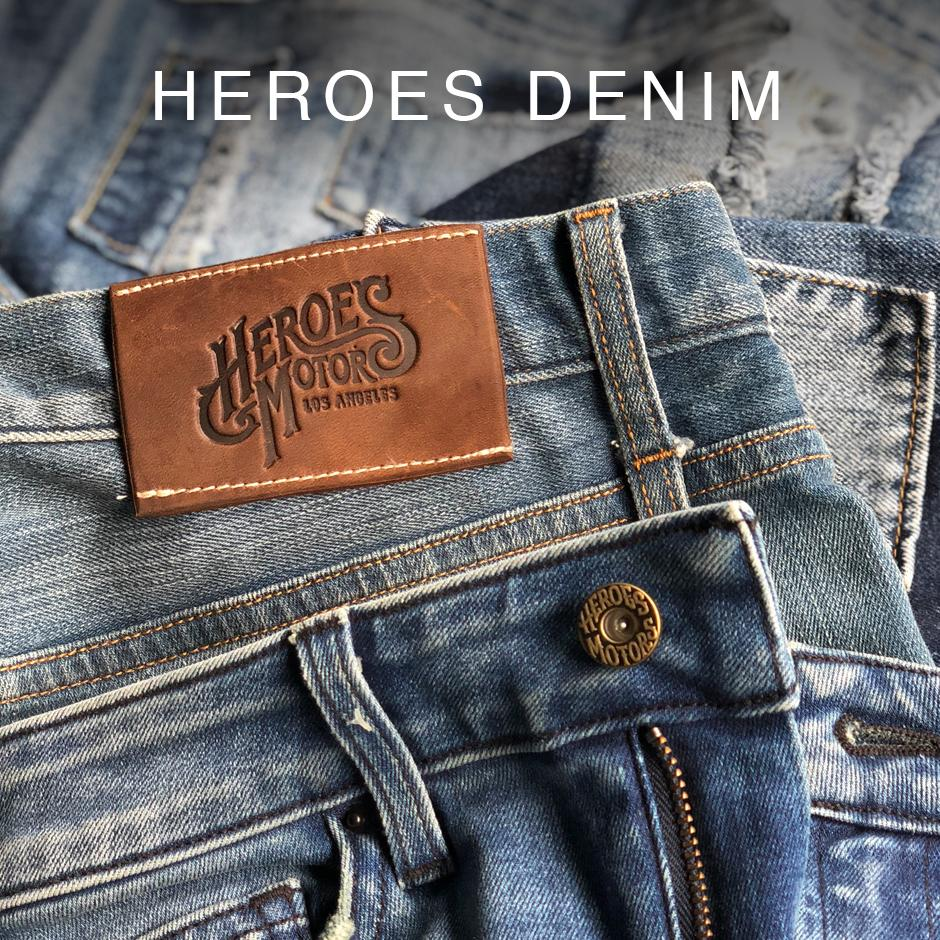 Heroes Motors denim