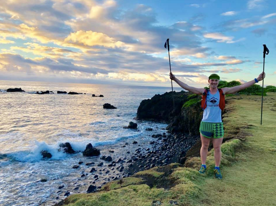 FKT Friday: rabbitELITEtrail Athlete Kanoa King Snags 'Sea to Sky' Up Hawaii's Haleakalā