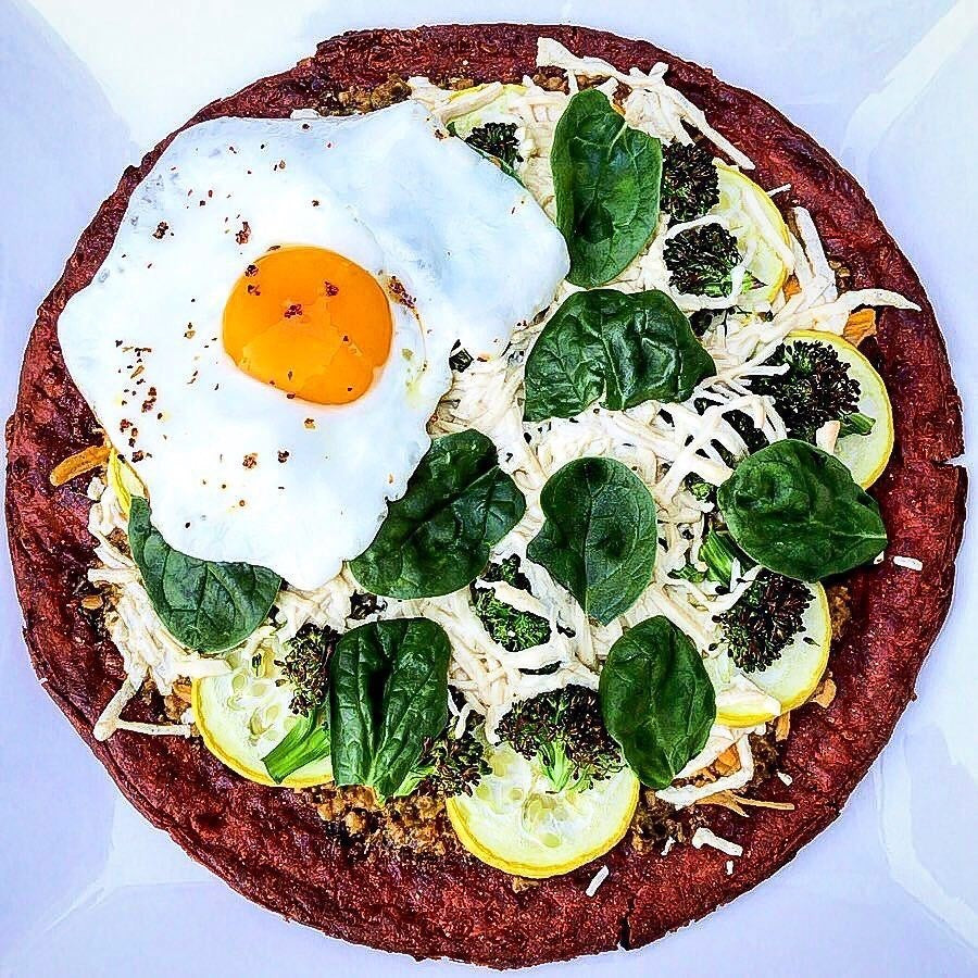 Fueled Friday: Groovy Beet Pizza