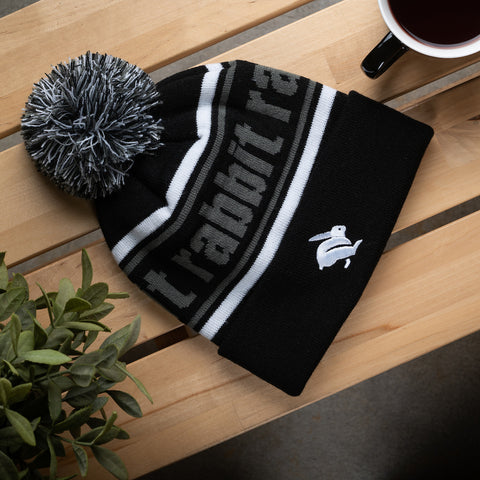 rabbit running beanie