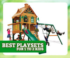 Best Playsets for 1 to 2 Kids