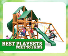Best Playsets for 3 to 5 Kids