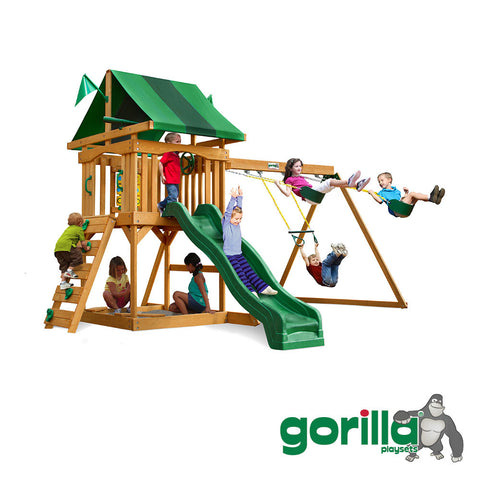 Gorilla Playsets Cedar Swing Set - Cadence