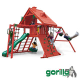 Gorilla Playsets Cedar Swing Set - Sun Palace II