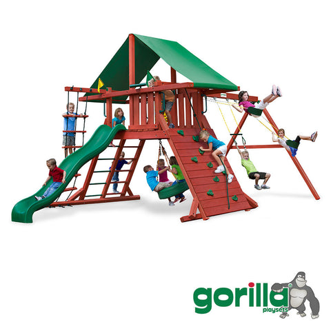 Gorilla Playsets Cedar Swing Set - Sun Valley I
