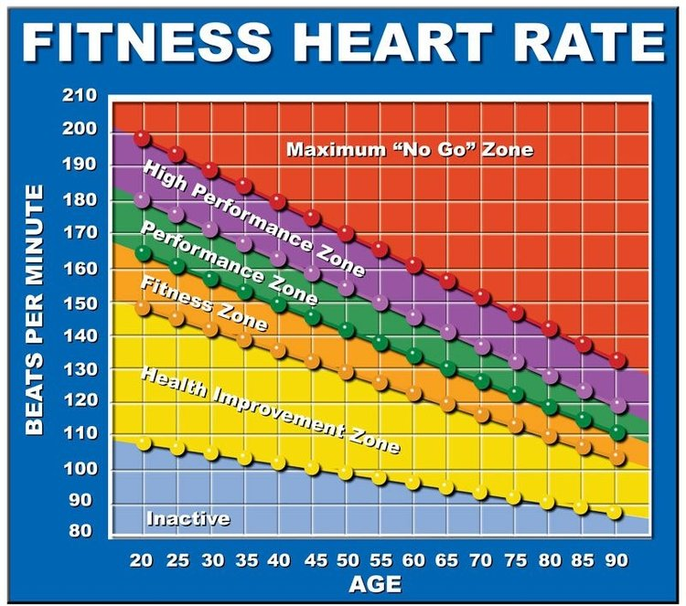 heart rate chart keep it simple