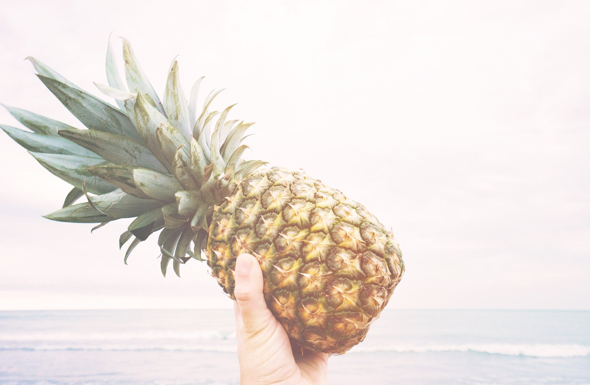 eat pineapple for antiinflammatory bromelain