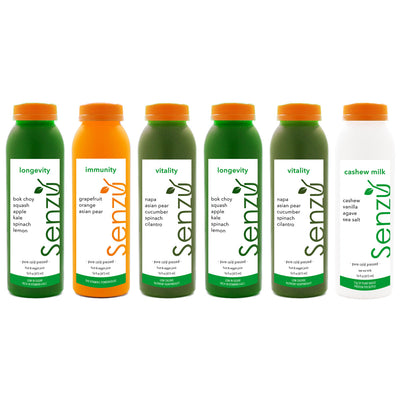 Advanced Cold Pressed Juice Cleanse