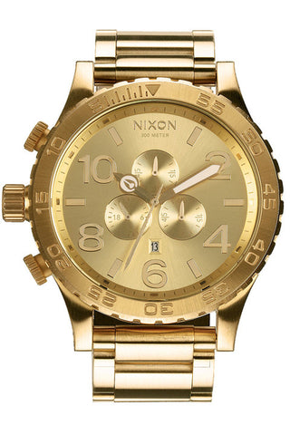 51-30 Chrono Watch - All Gold