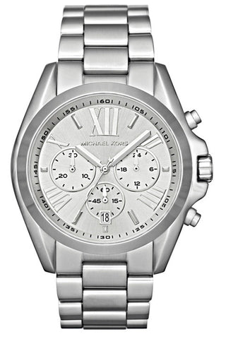 Bradshaw Chronograph Watch MK5535 - Silver