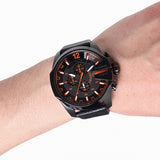 Mega Chief Leather Watch