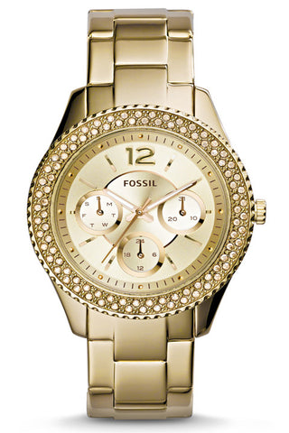 Stella Multifunction Stainless Steel Watch - Gold