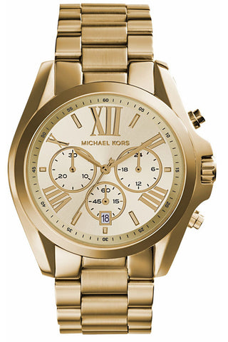 Bradshaw Chronograph Watch MK5605 - Gold