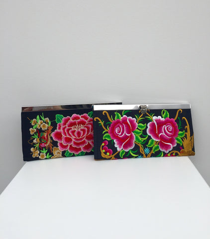 Exotic Boho Clutches