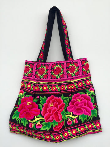 Candy Love Embroidery Bag